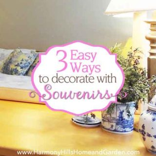 3 Easy Ways to Decorate With Souvenirs
