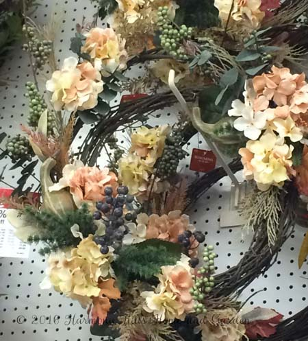 Follow along these easy steps for making your own fall wreath - www.HarmonyHillsHomeandGarden.com