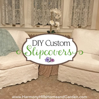 DIY Custom Slipcovers