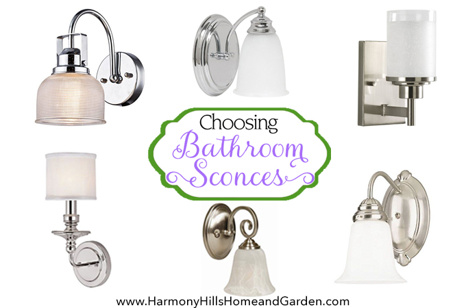 Choosing Bathroom Sconces