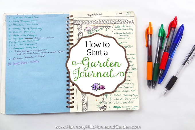 How to Start a Garden Journal