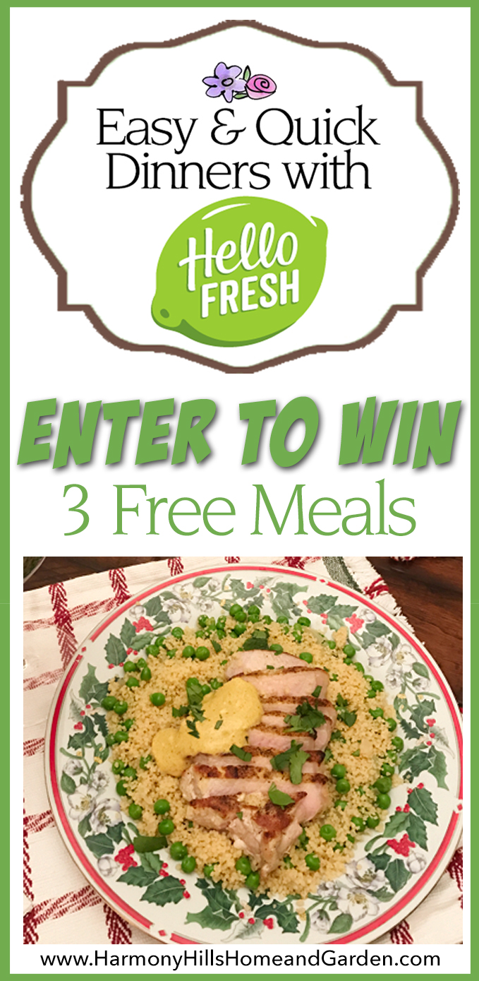 Easy And Quick Dinners With HelloFresh