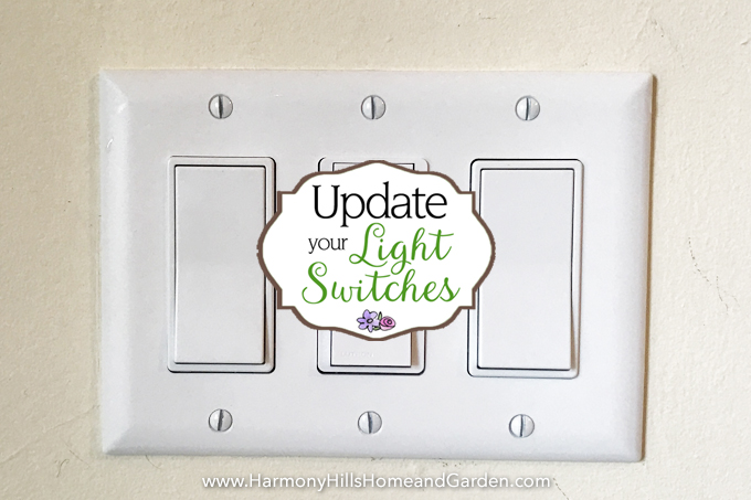 Update your light switches to instantly update the looks of your home.