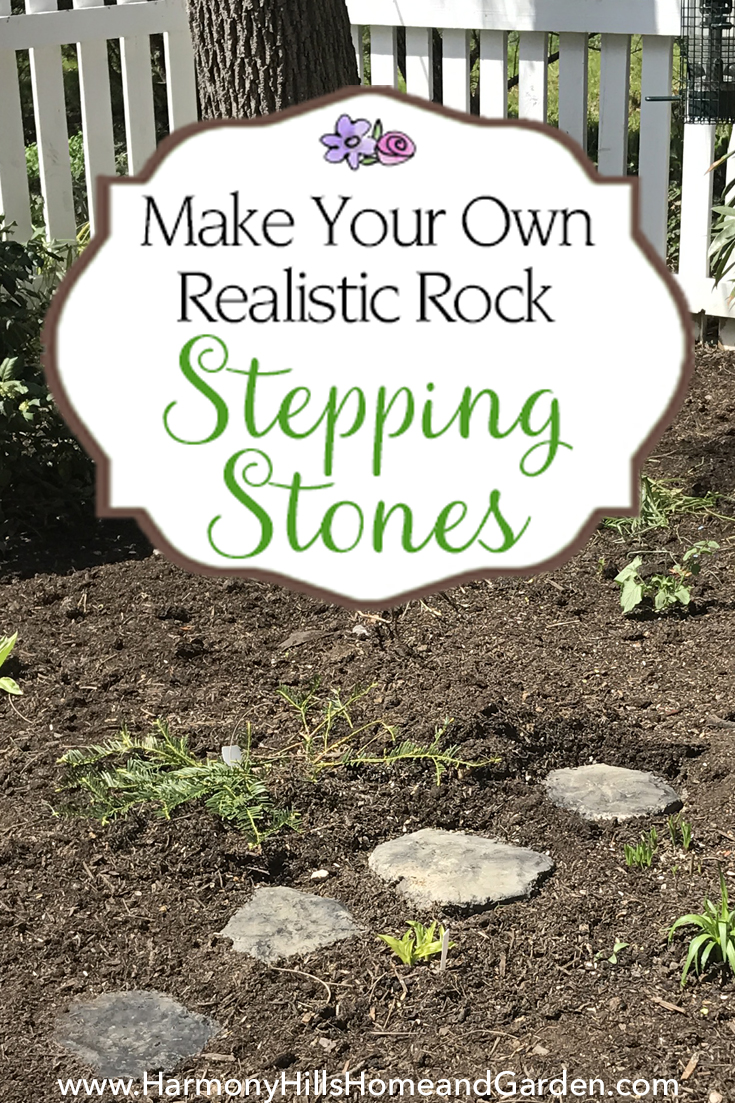 ... Garden Make Your Own Realistic Rock Stepping Stones   Step By Step  Guide!   Www.