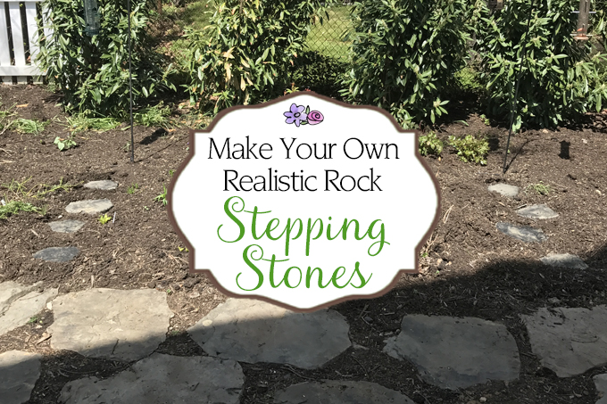 Attirant Make Your Own Realistic Rock Stepping Stones   Step By Step Guide!   Www.